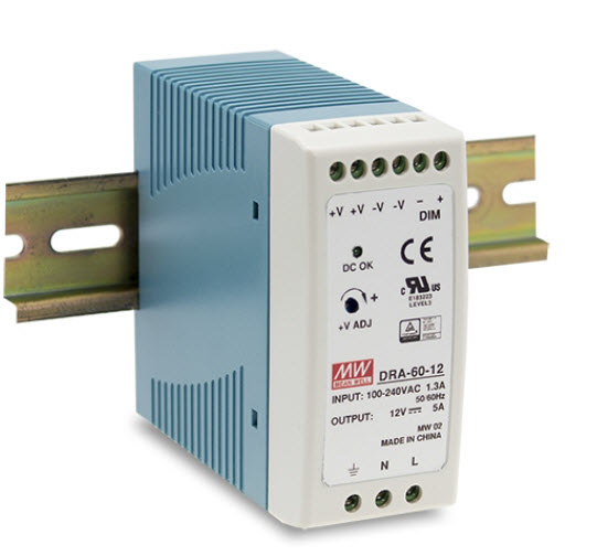 for Case 203,205,978,999 Mean Well DRP-04 DIN Rail Power Supplies Mounting Acc