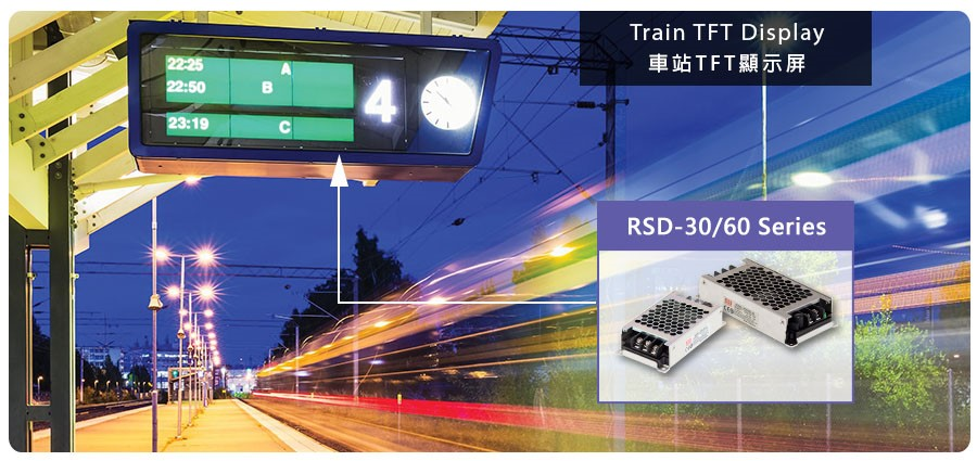 RSD Train TFT Display